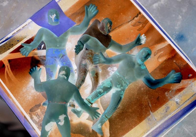 11-22-03--Jose's Green Men